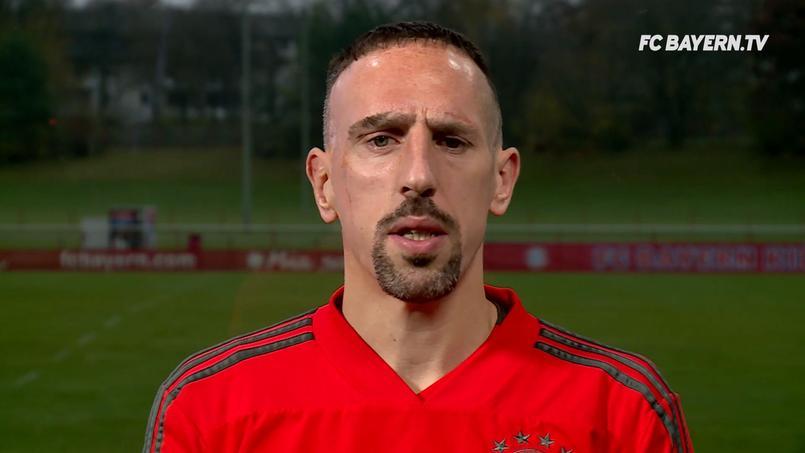Franck Ribéry s'est excusé dans une vidéo publiée par le Bayern Munich.