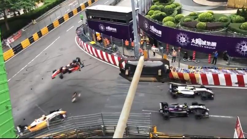 Terrible accident lors du Grand Prix de Macao