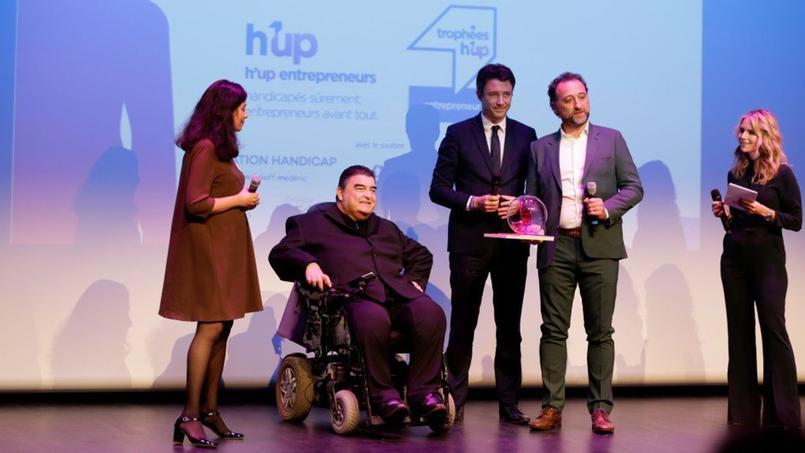 Handicap au travail parcours exceptionnel de Franck Vialle, entrepreneur de l'année
