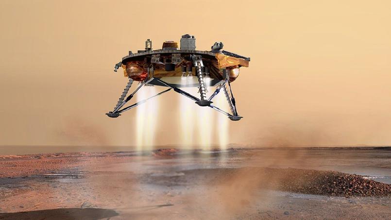 La mission franco-américaine Insight doit atterrir sur Mars dans une semaine
