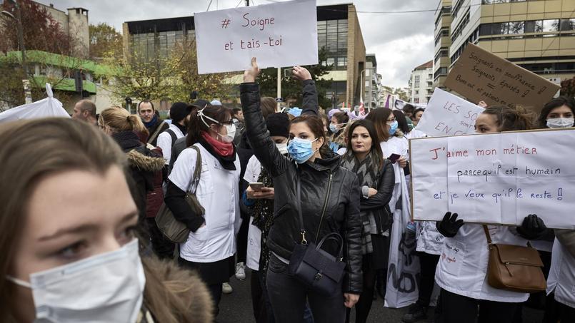 #Infirmièresoubliées : après les «gilets jaunes», les blouses blanches dans la rue ce mardi