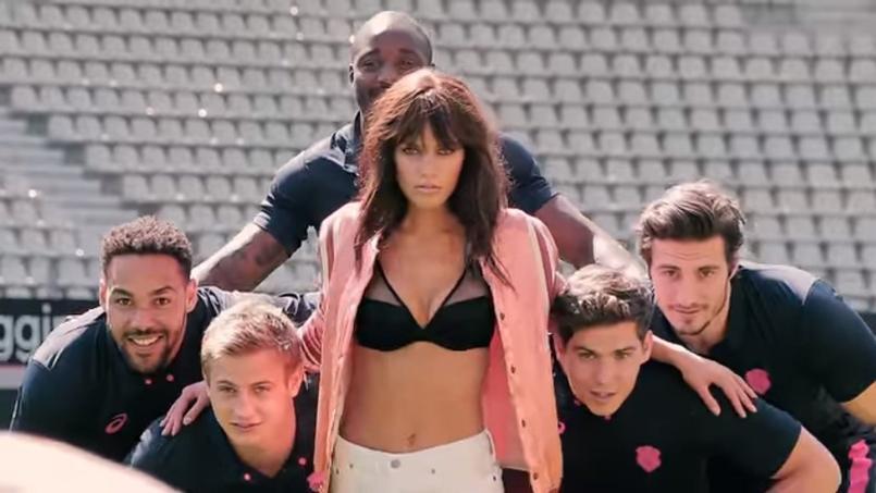 Le Stade Français lance une gamme de lingerie avec Aubade