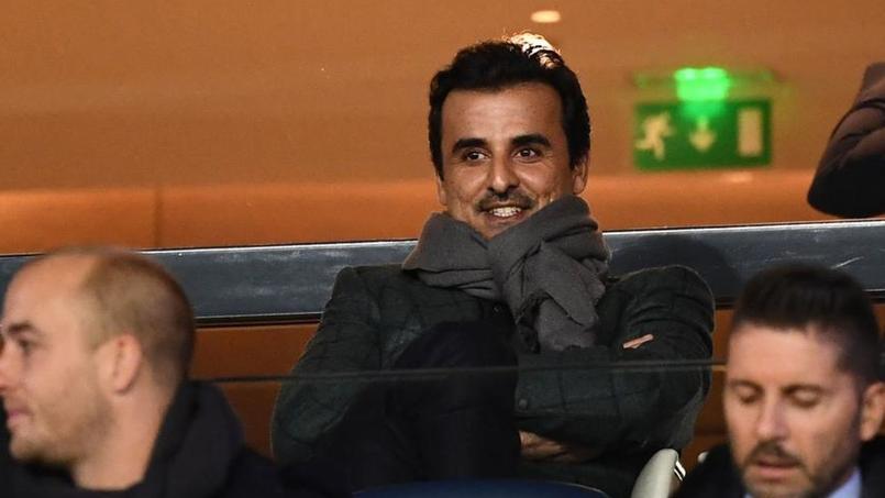 Tamim ben Hamad Al-Thani, émir du Qatar et propriétaire du Paris SG.
