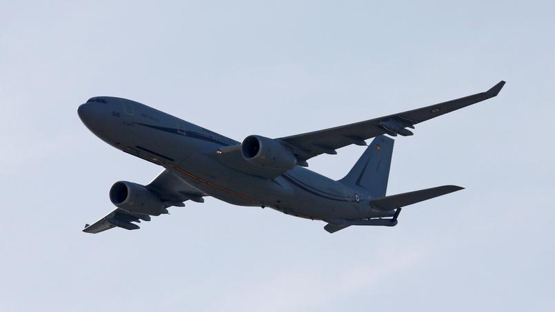 El Airbus A330 rescata a la Fuerza Aérea de los Estados Unidos.