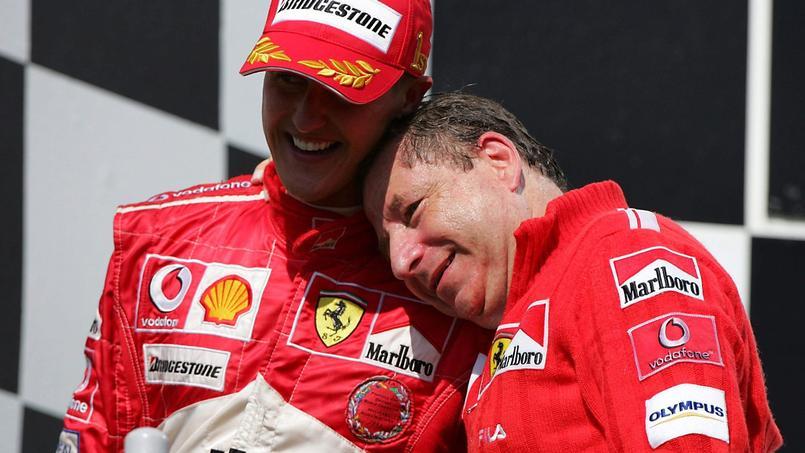 Jean Todt a regardé le GP du Brésil avec Michael Schumacher