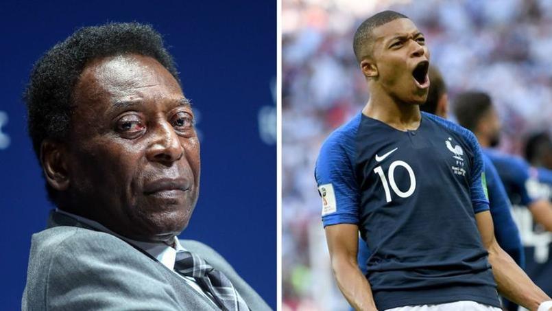 58 ans séparent Pelé de Kylian Mbappé qui fête ce jeudi ses vingt ans.