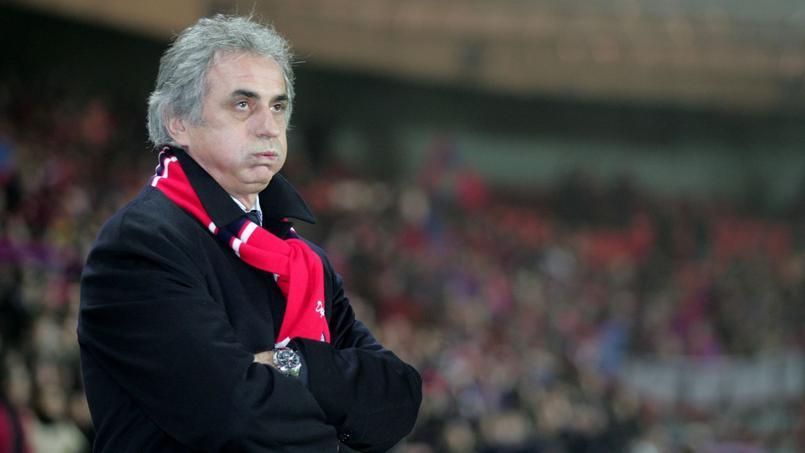 Vahid Halilhodzic, entraîneur du Paris SG entre 2003 et 2005.