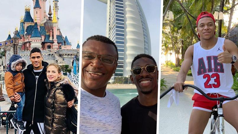 Raphaël Varane, Ousmane Dembélé et Kylian Mbappé se sont octroyés quelques jours de vacances à l'occasion des fêtes de fin d'année.