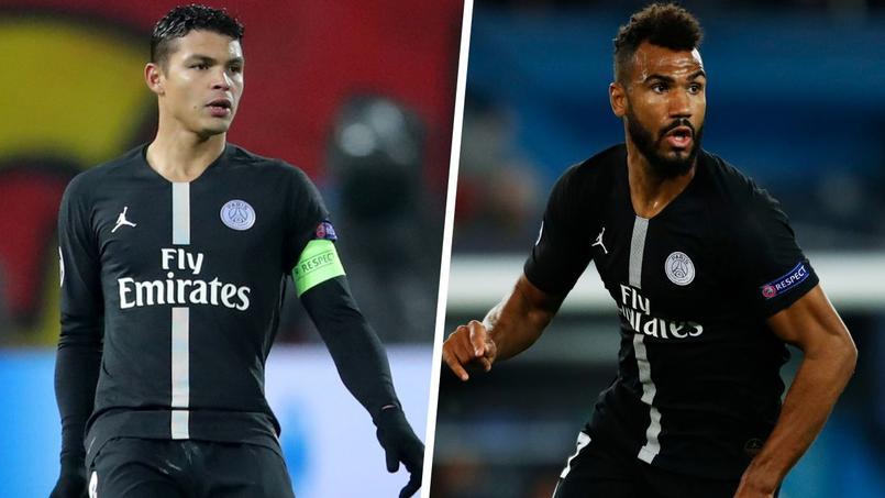 Les joueurs du PSG Thiago Silva et Eric Choupo-Moting ont été victimes de cambriolages cette saison.