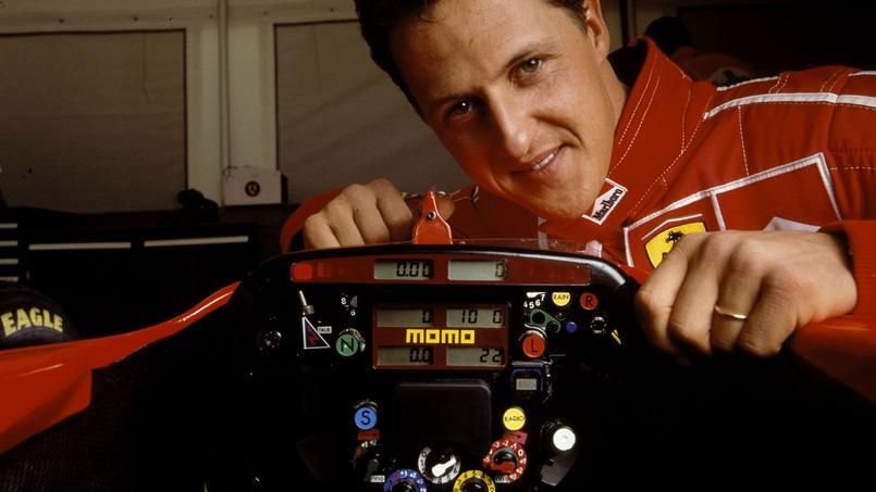 Michael Schumacher chez Ferrari en 1998.