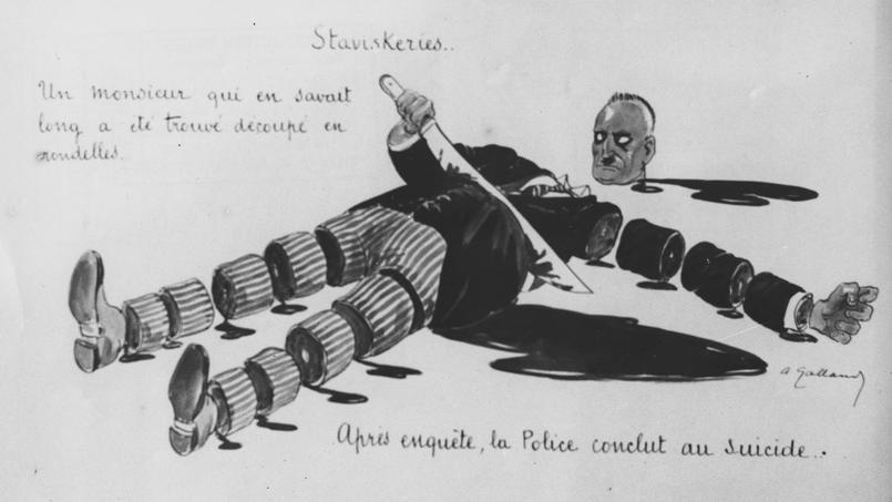 Affaire Stavisky : la mort de l'escroc fit vaciller la République en 1934