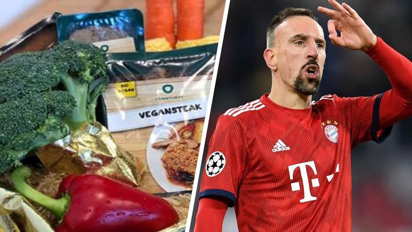 Entrecôte couverte d'or : la Peta envoie un panier de viande vegan à Ribéry