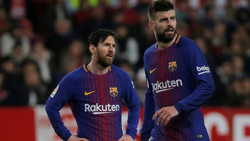 Lionel Messi et Gerard Piqué, coéquipier au FC Barcelone et futurs associés avec le FC Andorra?