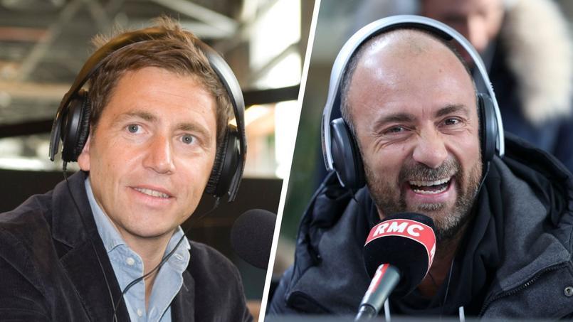 Daniel Riolo et Christophe Dugarry, consultants à la radio RMC.