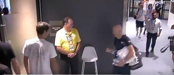 La mésaventure de Federer à Melbourne