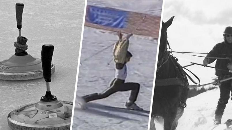 Ski attelé, pétanque des glaces, tir aux pigeons: quelques sports improbables vus aux JO
