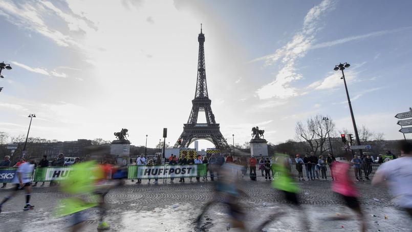 60.000 personnes sont attendues au départ du marathon de Paris le 14 avril.