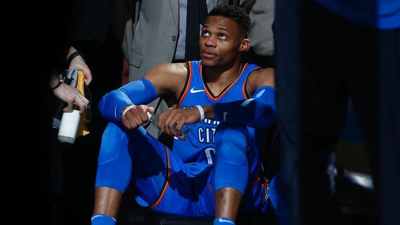 Russell Westbrook au centre d'une polémique alors que le Thunder se déplaçait dans la salle d'Utah.