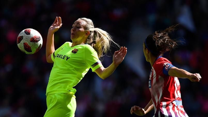 Record d'affluence pour un match féminin de clubs entre l'Atlético et Barcelone