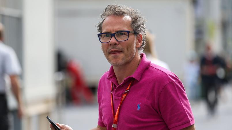 Jacques Villeneuve, consultant sur Canal+ pour la Formule 1.