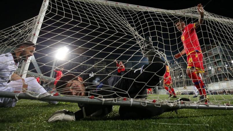 Josep Gomes a passé une soirée difficile lundi soir avec Andorre face à l'Albanie.
