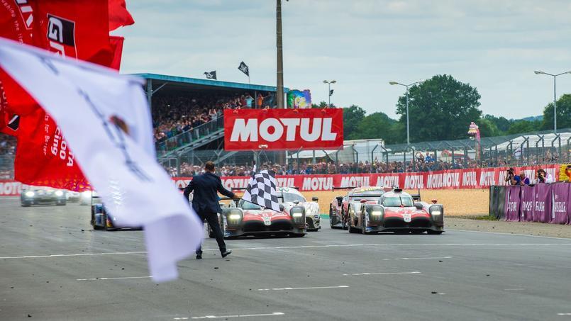Le départ des 24 heures du Mans 2018