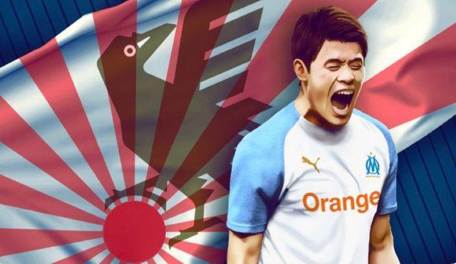 L'OM se trompe de drapeau du Japon pour fêter l'anniversaire de Sakai