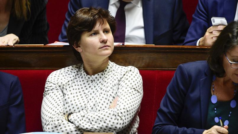 Roxana Maracineanu au soutien de Prince Guano après les incidents survenus lors de la rencontre Dijon-Amiens.