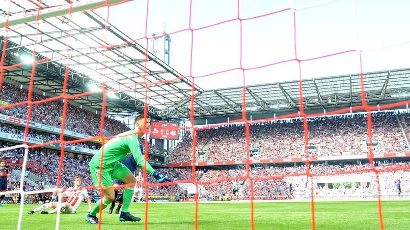 Le stade du FC Cologne en 2018 avec la venue du Bayern Munich.