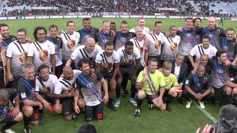 Des stars du foot et du rugby seront à Bordeaux pour un match de charité