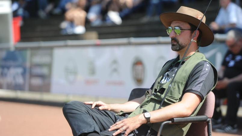 Markus Kay, l'entraîneur du TV Jahn Hiesfeld