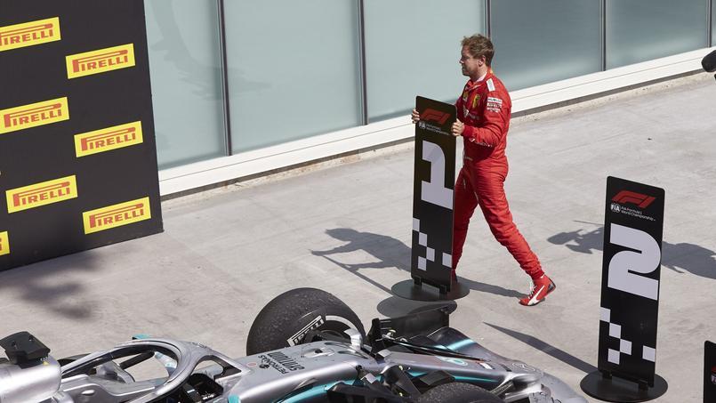 Sebastian Vettel après le Grand Prix du Canada