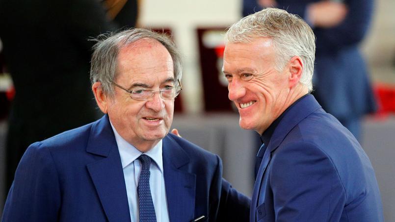 Noël Le Graët et Didier Deschamps