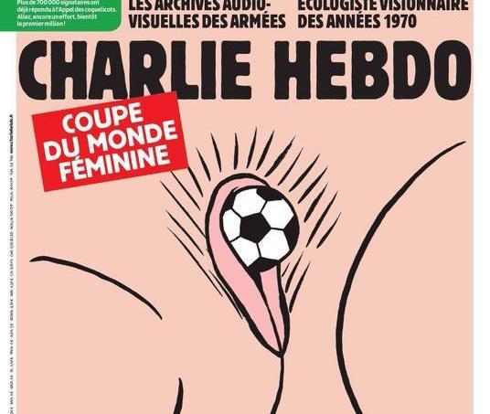 Charlie Hebdo «célèbre» la coupe du monde féminine avec un dessin polémique