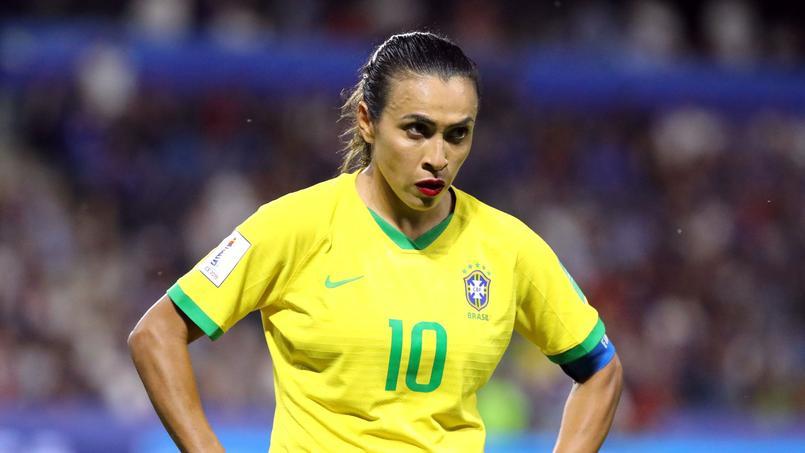 Marta lors de France-Brésil