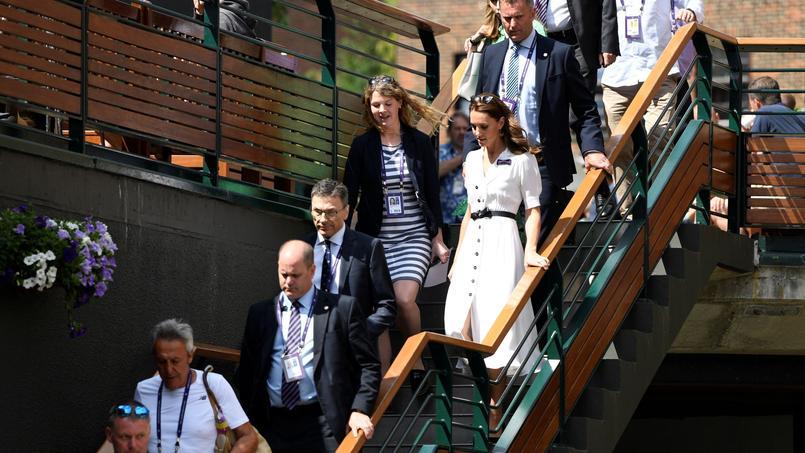 CELEBRITES : Wimbledon 2019 - Londres - 02/07/2018