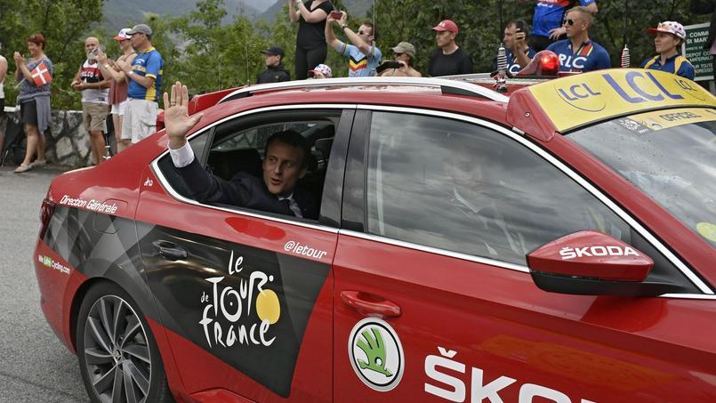 Cyclisme: Emmanuel Macron attendu sur deux étapes du Tour de France