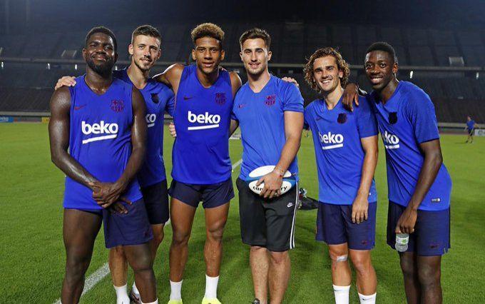 Valverde confiant envers son trio — Barça