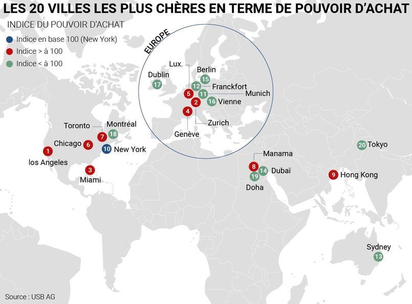 Voici Les 20 Villes Les Plus Cheres Du Monde En 2018