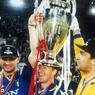 Trois fois vainqueurs du Scudetto avec la Juventus et champion d'Europe en 1996 (photo), Didier Deschamps reviendra à Turin en 2006 pour faire remonter son club en Serie A suite à l'affaire du Calciopoli.