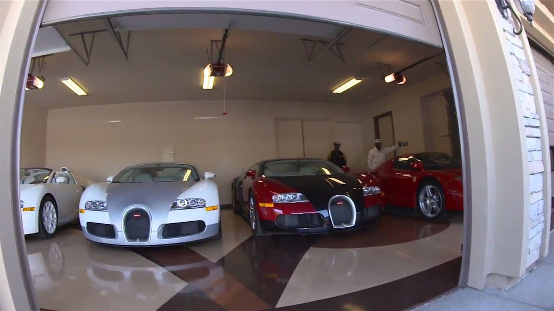 le sportif le mieux pay du monde d voile son garage rempli de voitures de luxe. Black Bedroom Furniture Sets. Home Design Ideas
