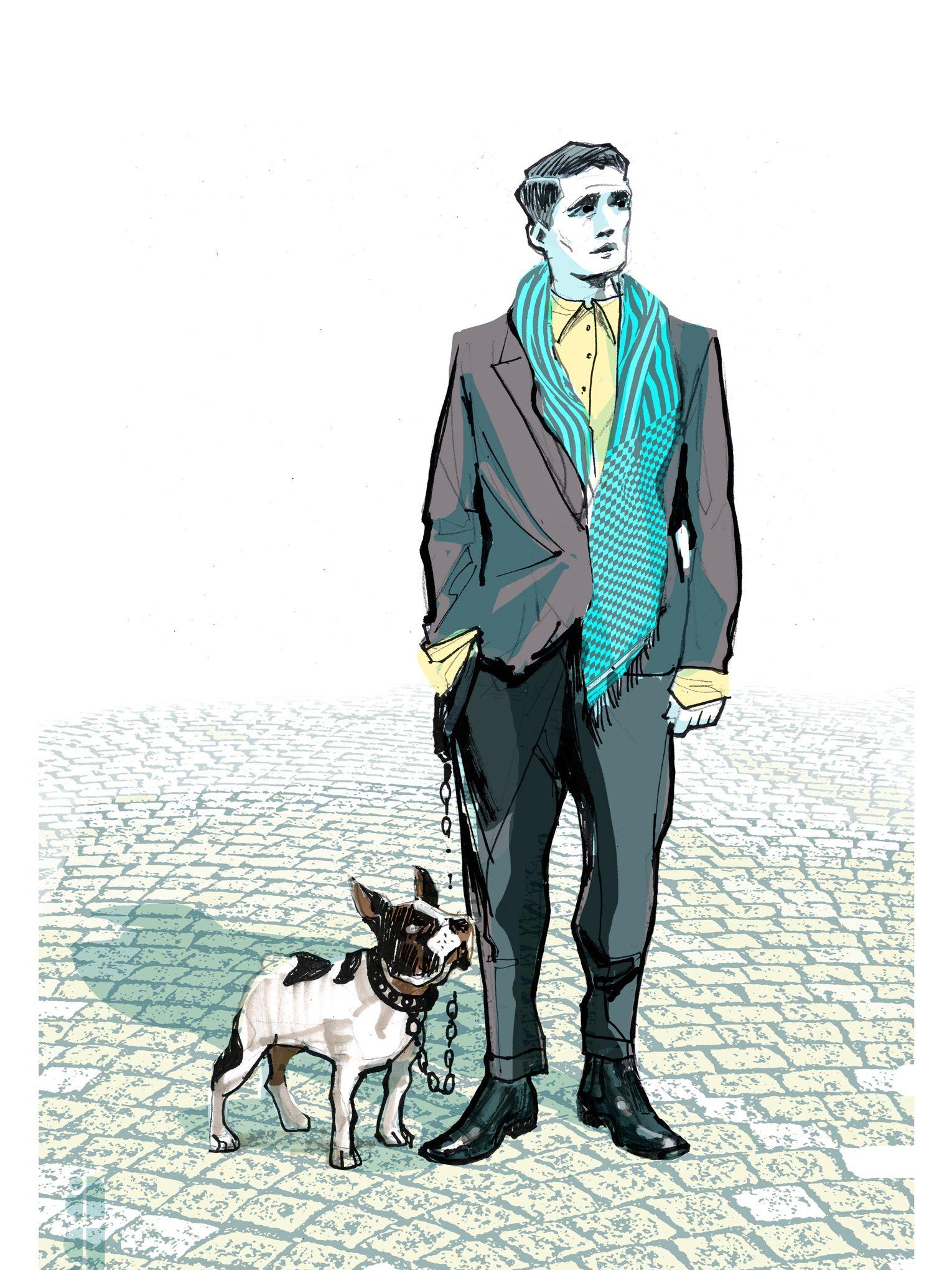 11d0be24ca19 Le foulard, la nouvelle cravate