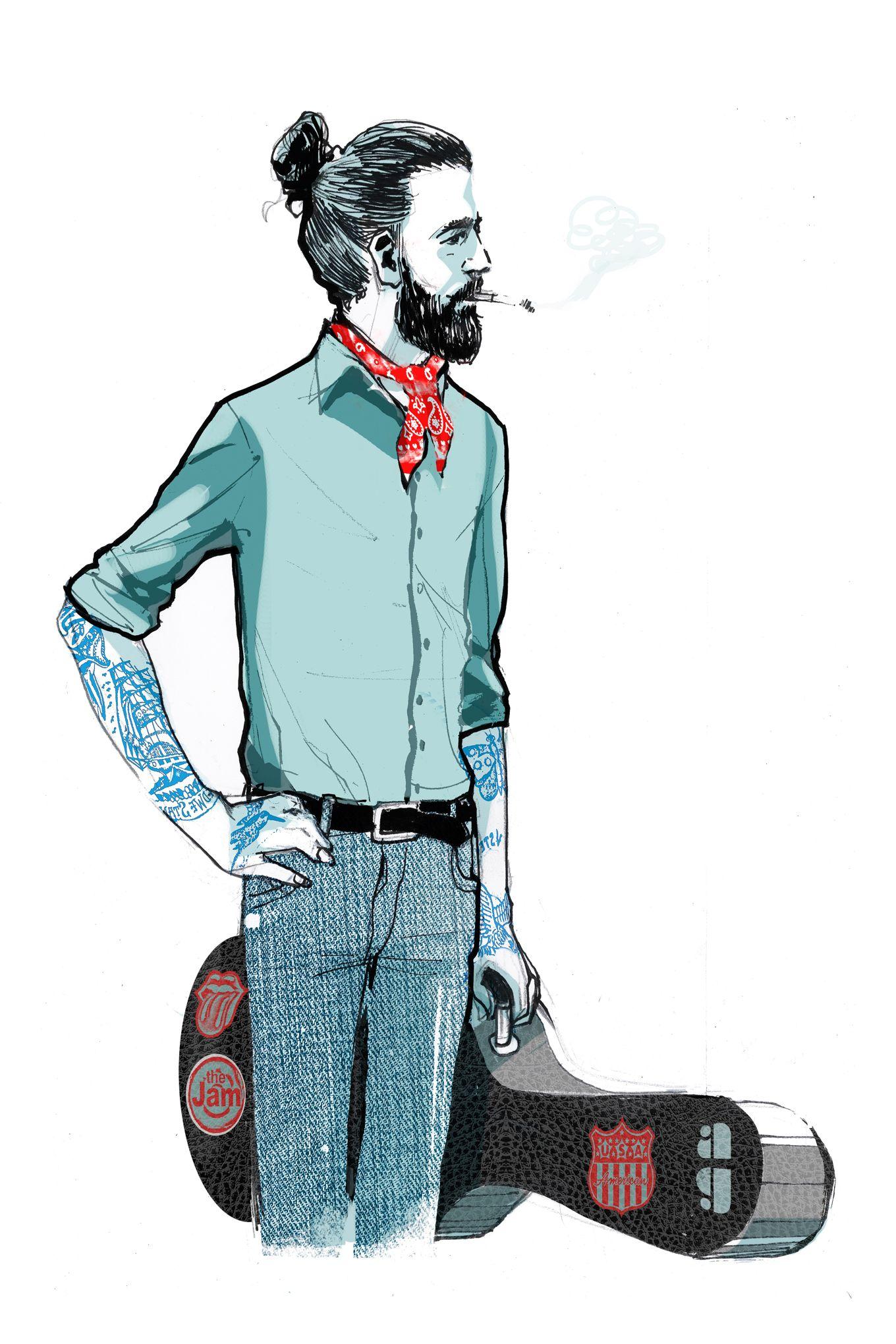 6fd6c0184f9f Le foulard, la nouvelle cravate