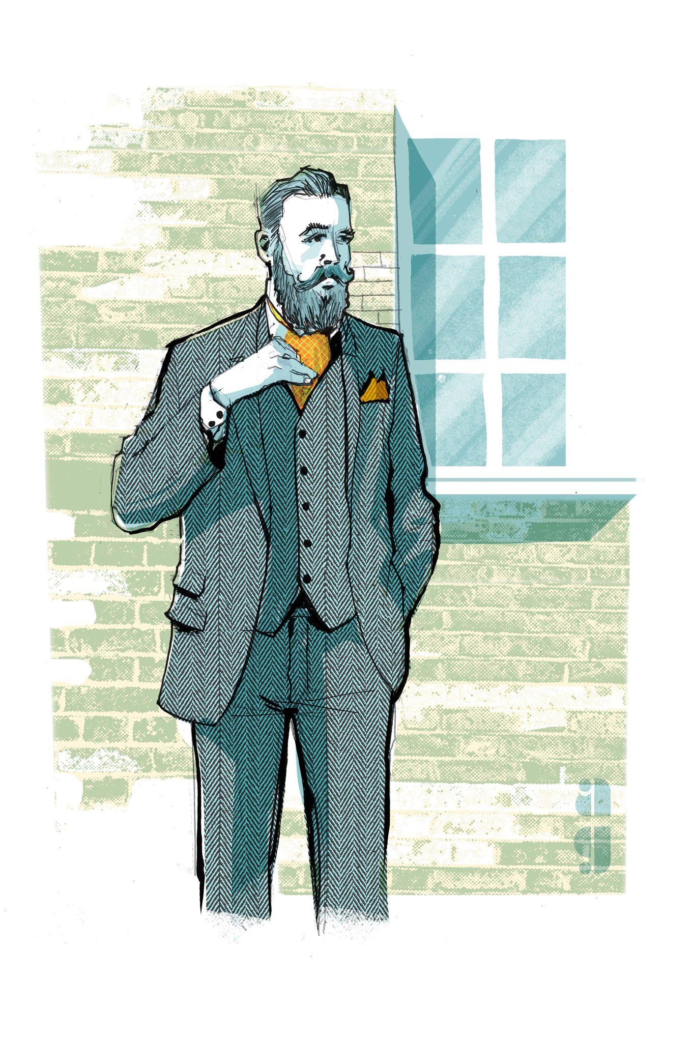 73d5b08ae41a Le foulard, la nouvelle cravate