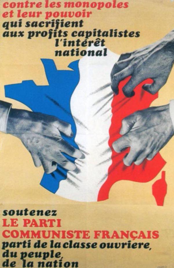 Le discours communiste des années 1970 en six affiches