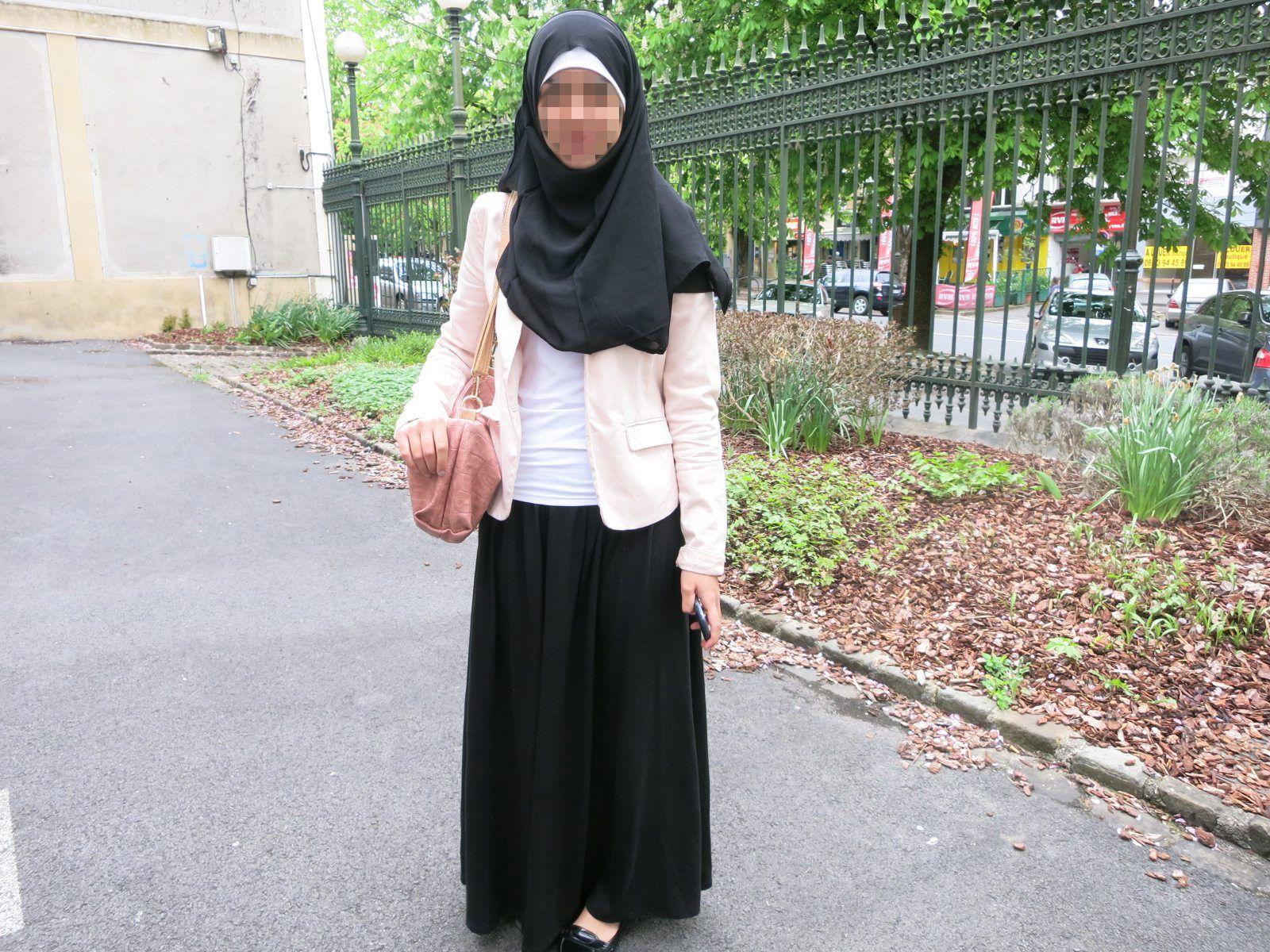 velo islámicola Después del islámicola Después falda falda del velo Después kXOuTPZi