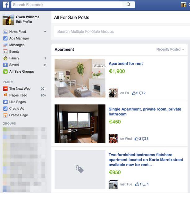 facebook concurrence leboncoin avec des petites annonces gratuites. Black Bedroom Furniture Sets. Home Design Ideas