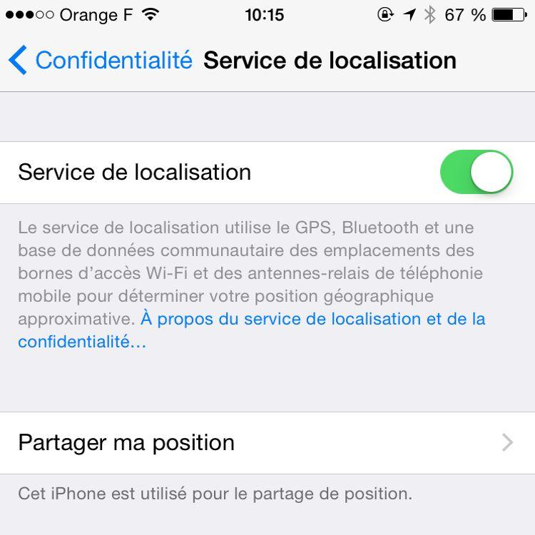 comment localiser iphone ami sans autorisation