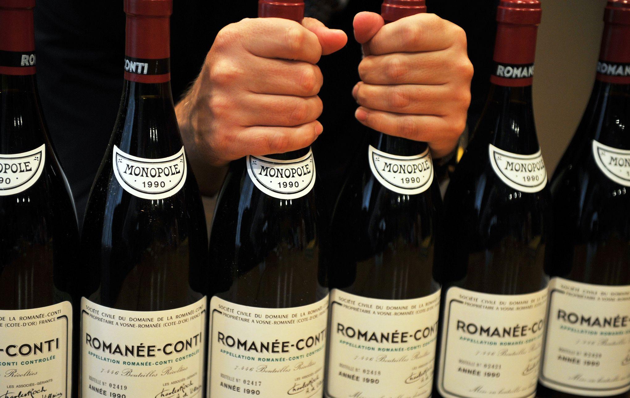 Le Romanee Conti N Est Plus Le Vin Le Plus Cher Du Monde