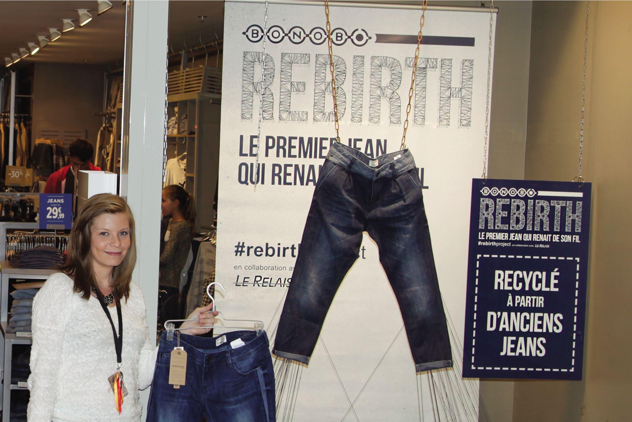 Bonobo Opération Recyclage Jeans